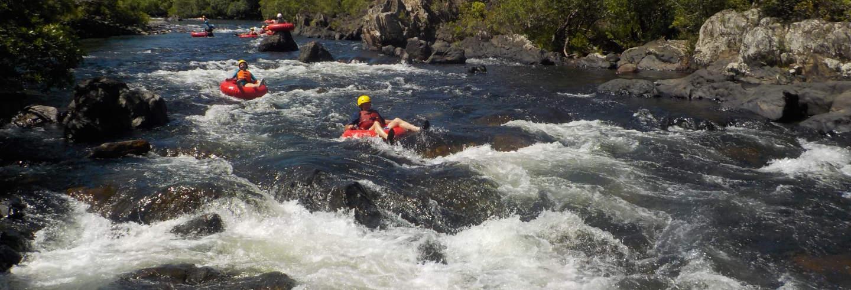 Tubing en la selva de Cairns