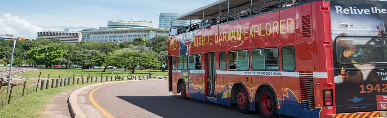 Autobus turistico di Darwin