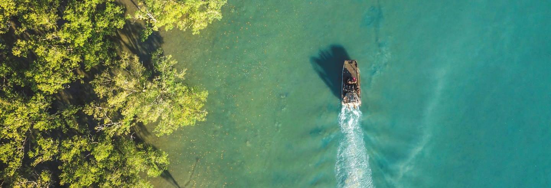 Passeio de airboat por Darwin