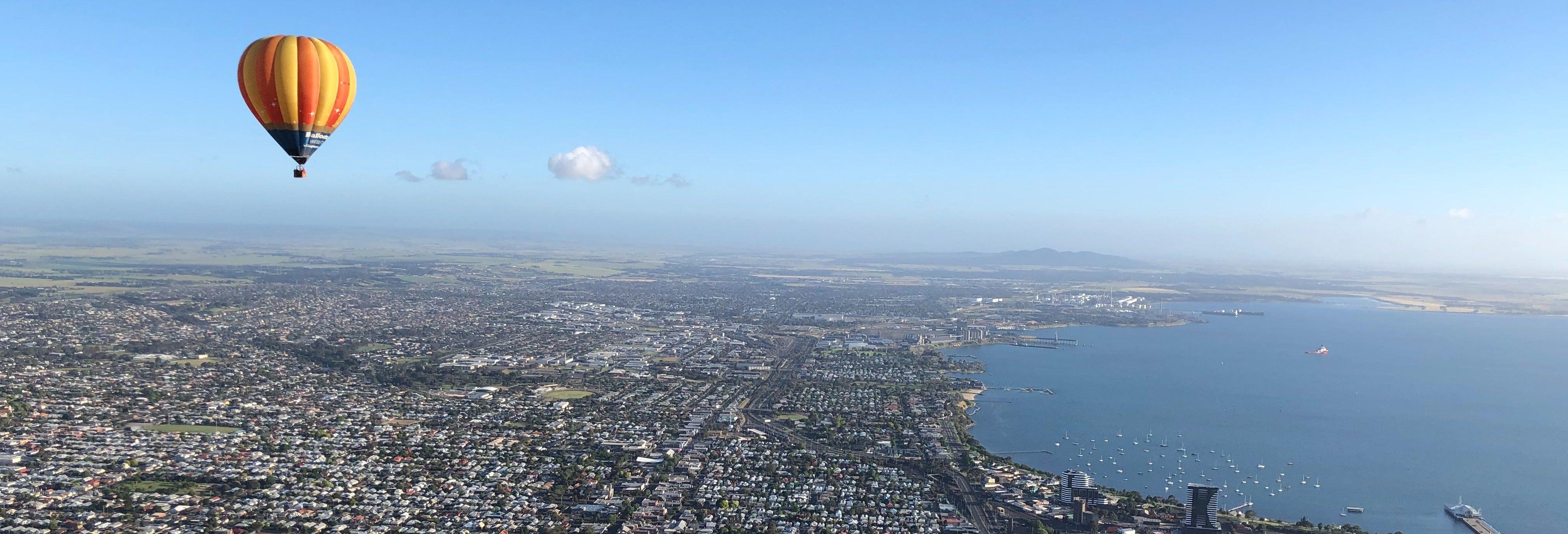 Paseo en globo por Geelong