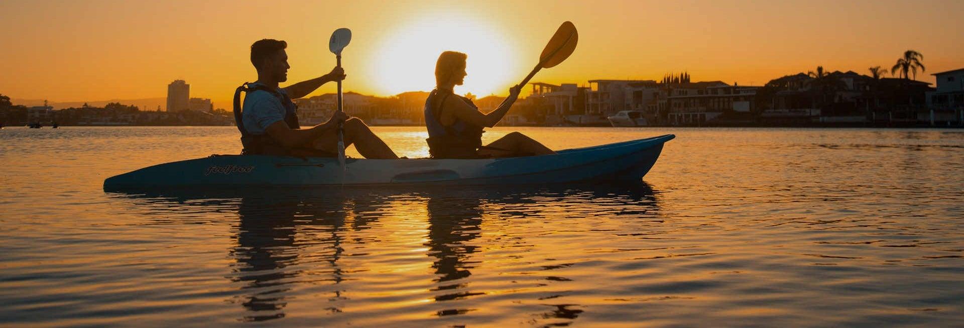 Gold Coast Sunset Kayaking Tour