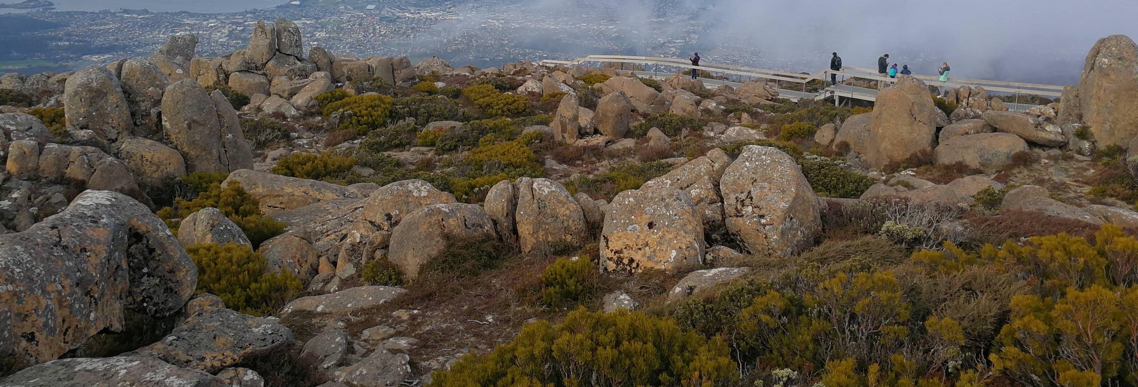 Trekking por Hobart