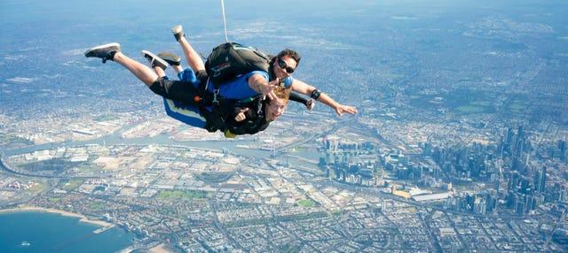Salto en paracaídas en Melbourne