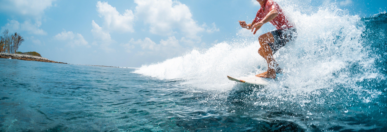 Curso de surfe em Double Island Point