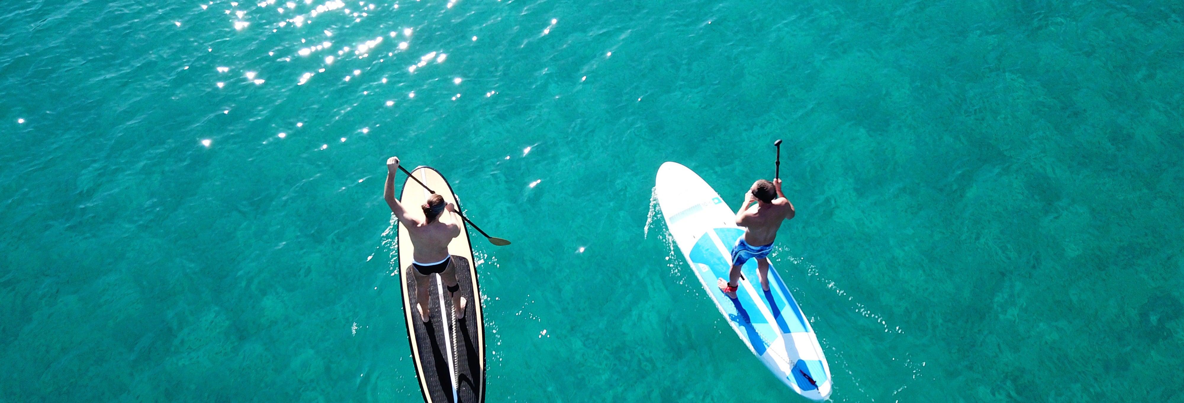Excursion en paddle surf à Double Island Point