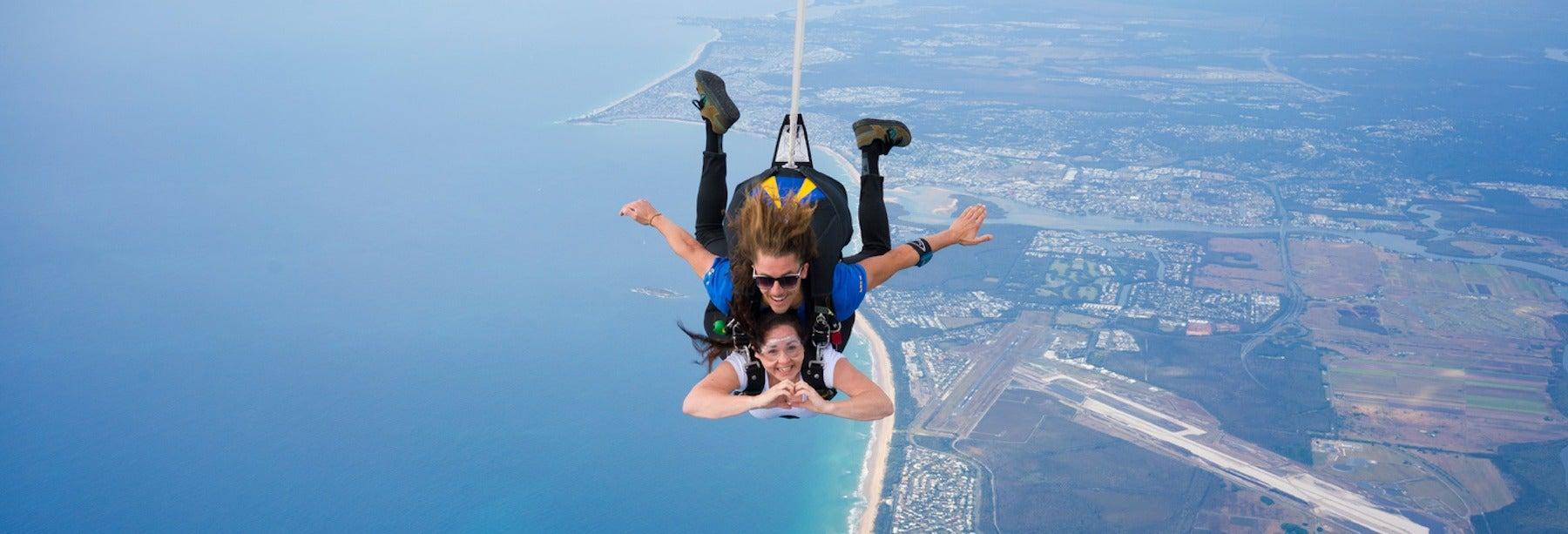 Lancio in paracadute a Noosa Heads