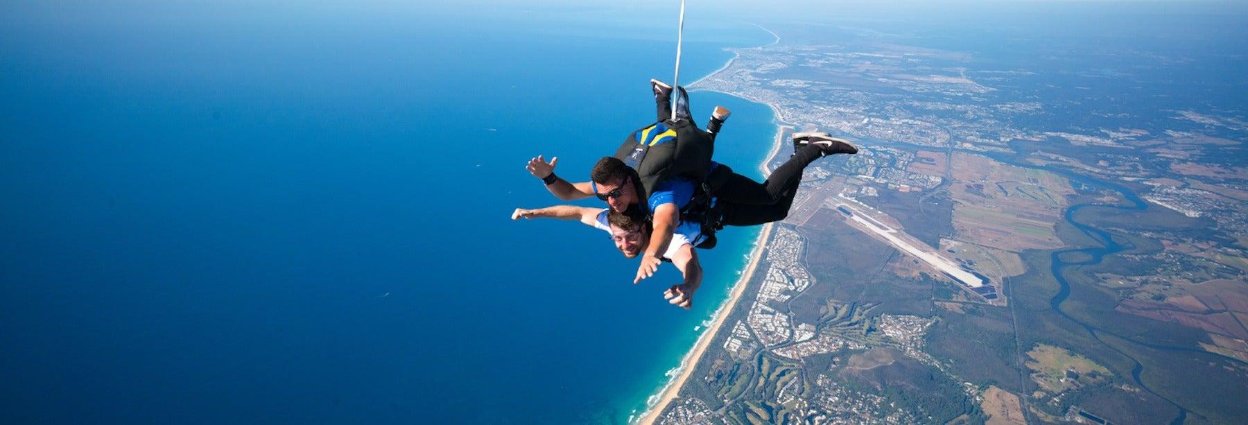 Lancio con il paracadute a Perth
