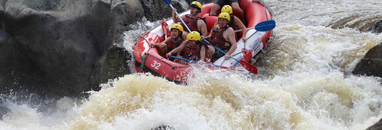 Rafting al Barron Gorge National Park