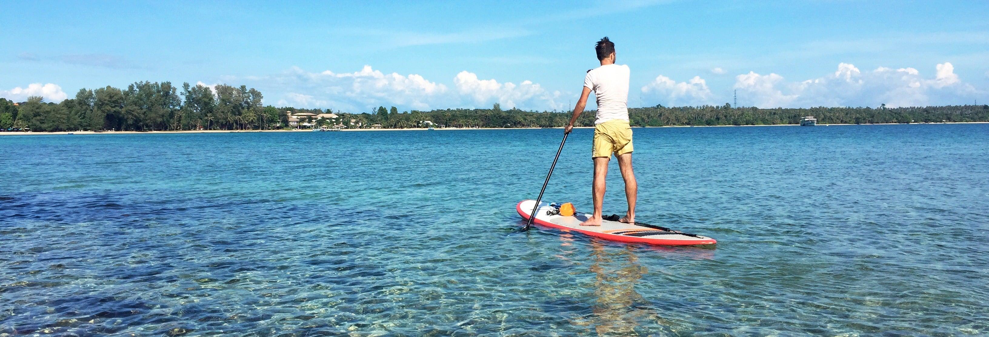 Tour de paddle surf por Double Island Point