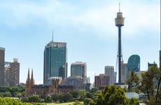 Entrée pour la Tour de Sydney
