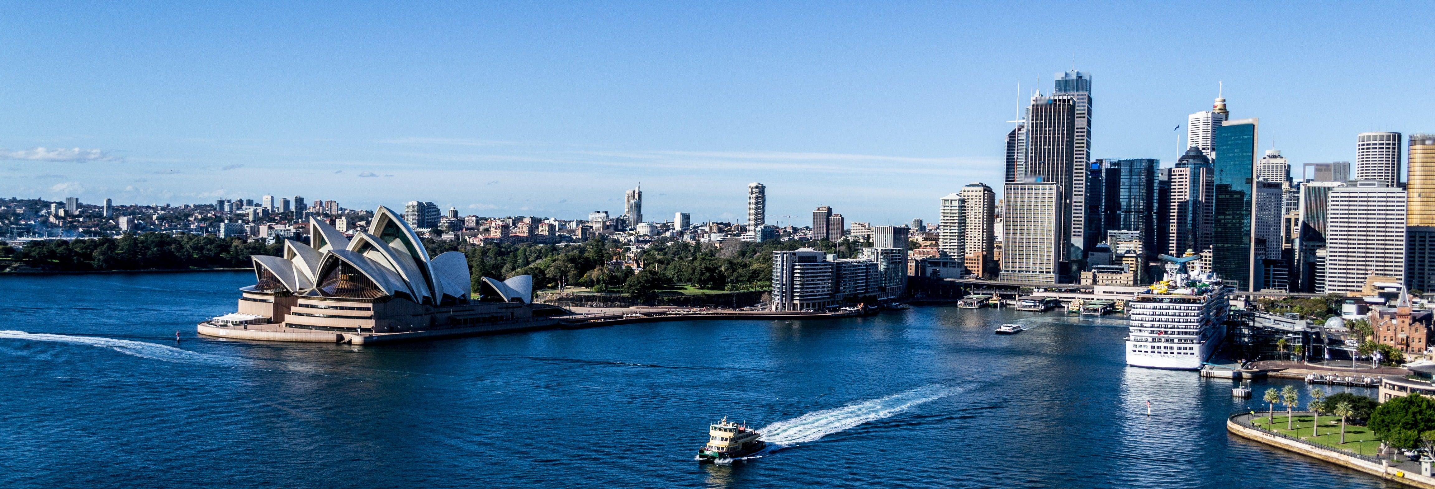 Paseo en barco por la bahía de Sídney
