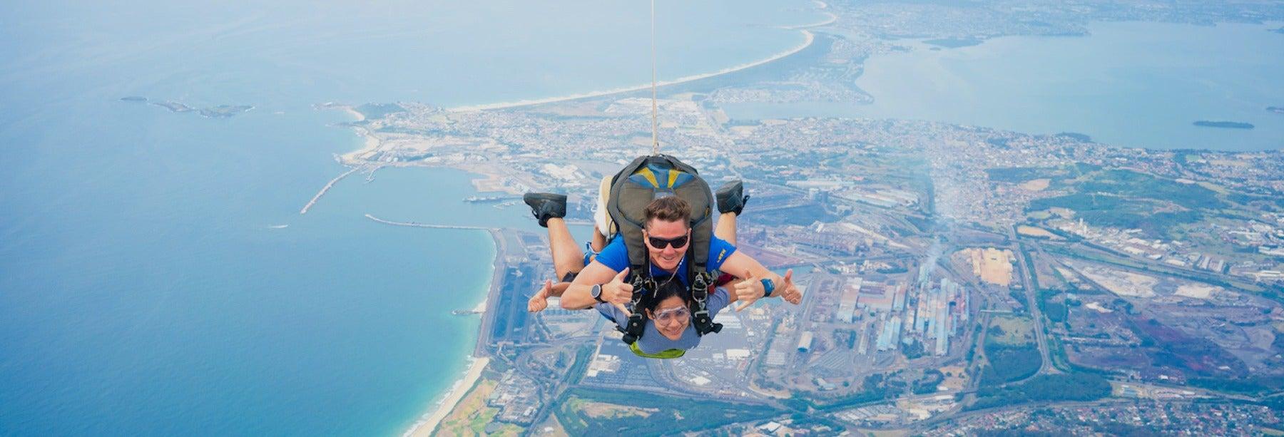 Salto en paracaídas en Sídney