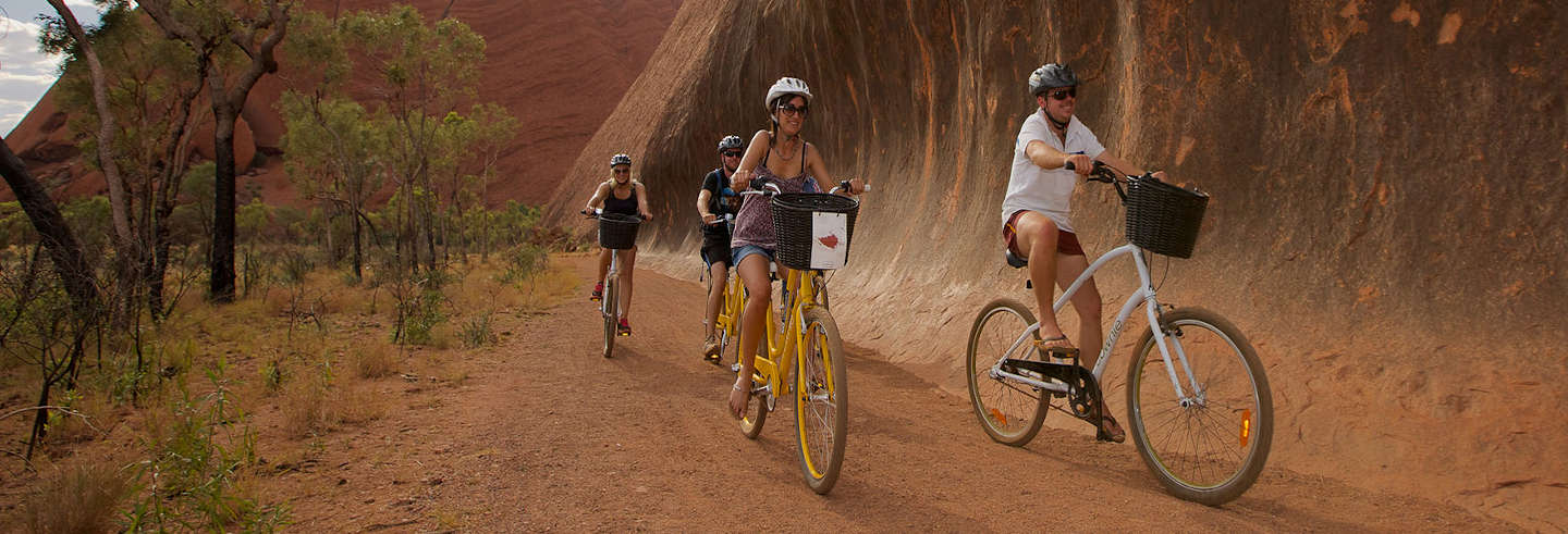 Aluguel de bicicleta em Uluru-Kata Tjuta