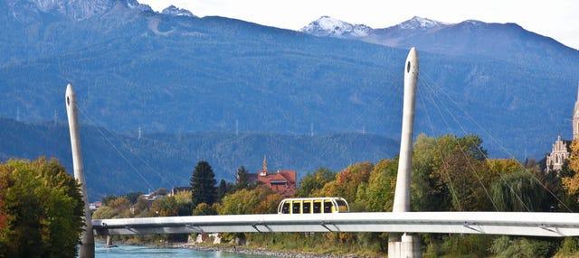 Entrada al funicular Innsbruck-Hungerburg