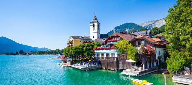 Excursão aos lagos de Salzkammergut