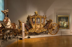 Entrada al Museo de Carruajes Imperiales