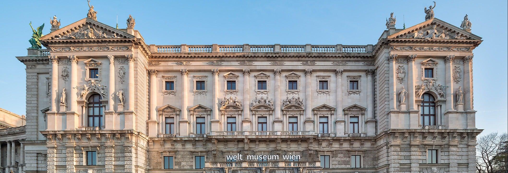Entrada al Weltmuseum