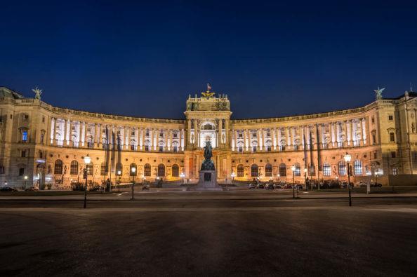 l complesso dell'Hofburg