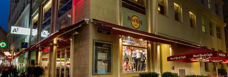 Déjeuner ou dîner au Hard Rock Cafe Vienne