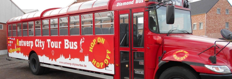Autobús turístico de Amberes