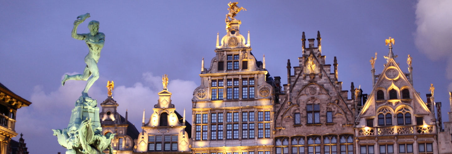 Antwerp Sightseeing Private Tour