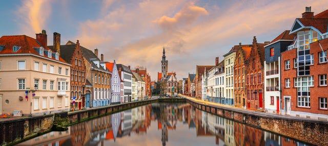 Bus touristique de Bruges