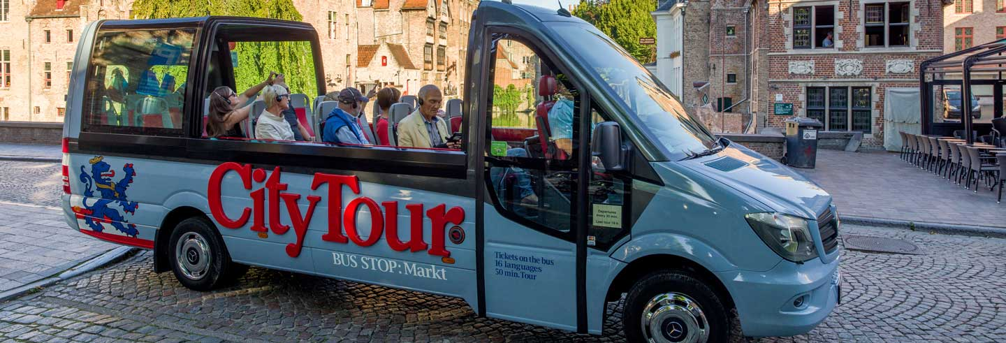 Bruges Sightseeing Bus Tour