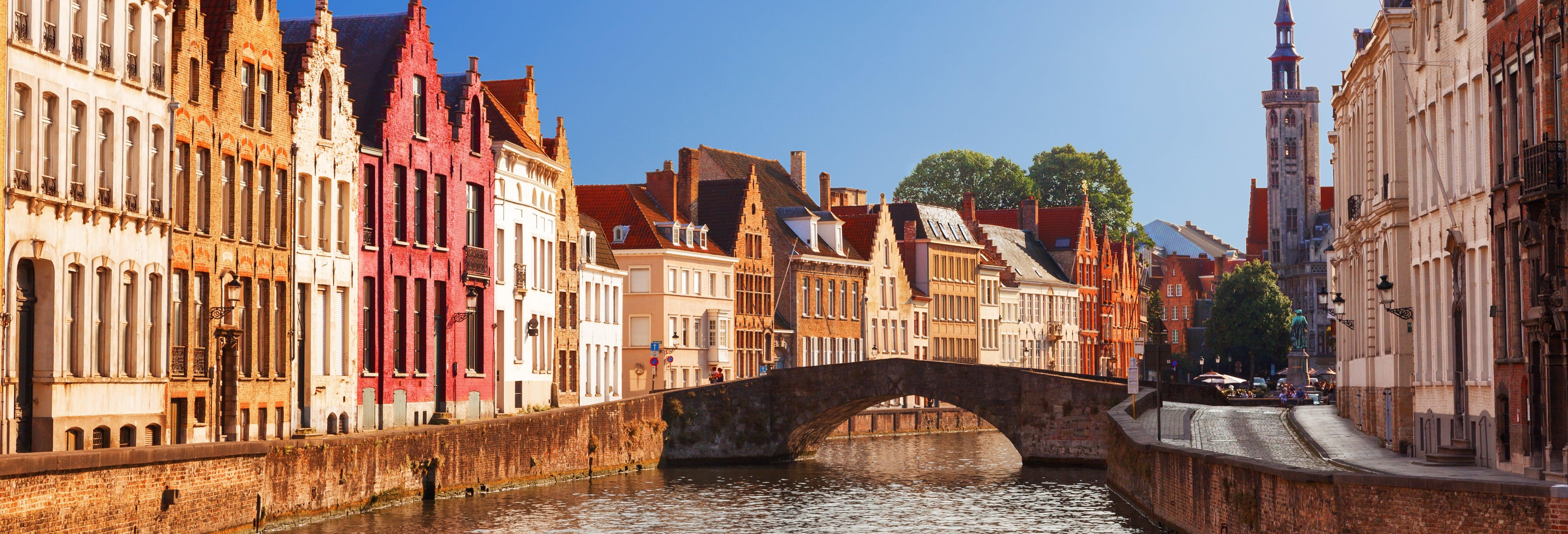 Free tour por Bruges. Grátis!