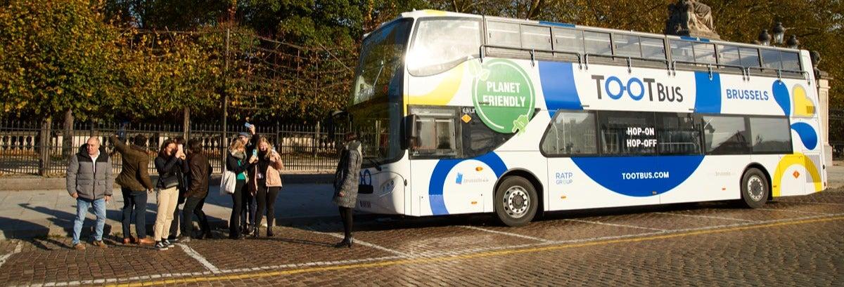 Brussels Hop On Hop Off Bus