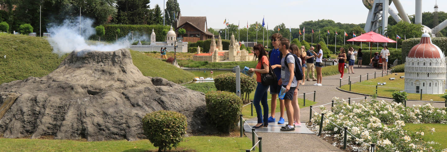 Ingresso do Mini-Europe