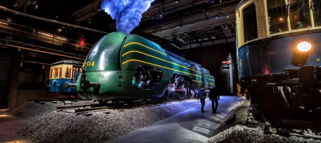 Entrada a Train World, el Museo del Tren de Bruselas
