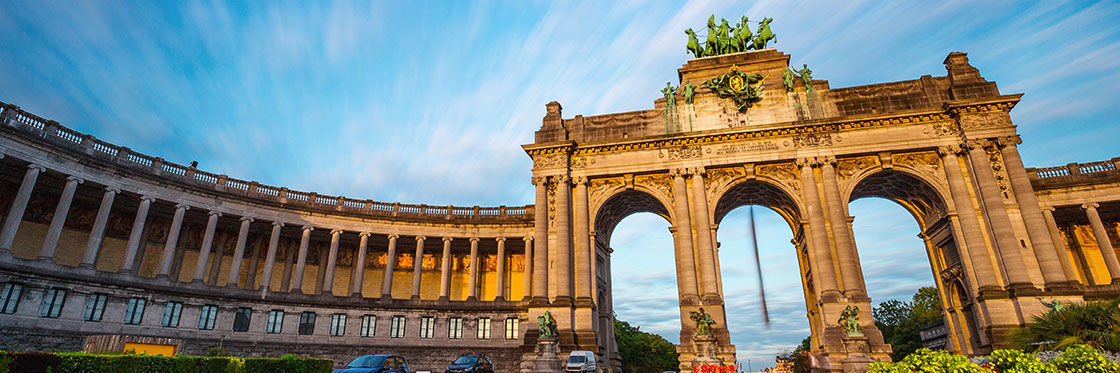 Cinquantenaire in Brussels