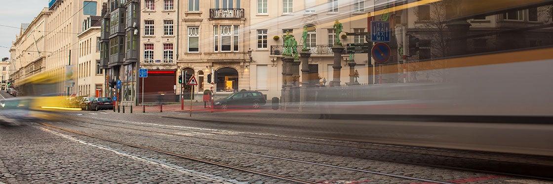 Transporte em Bruxelas