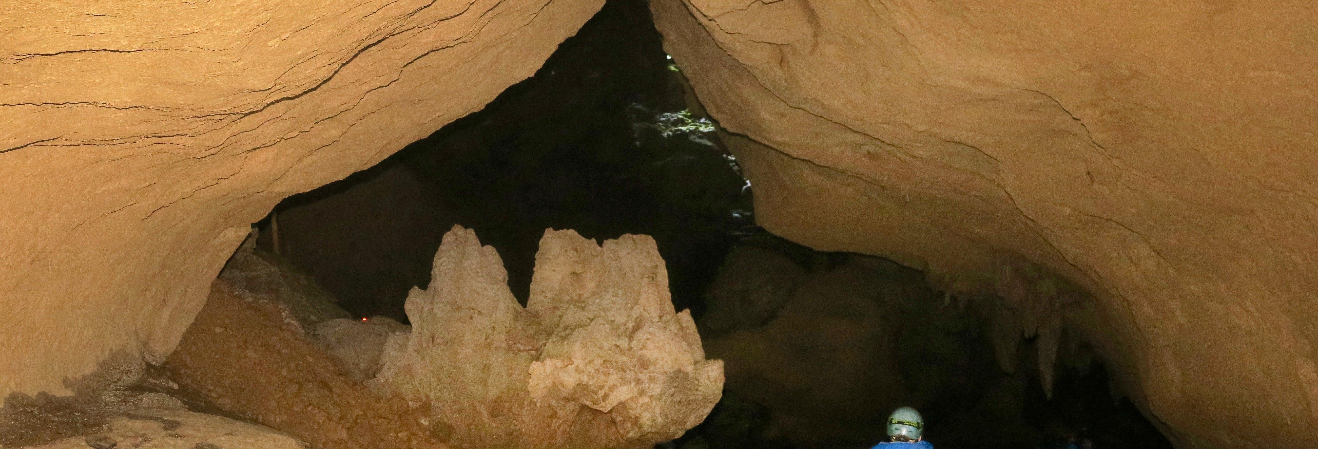 Tirolina y cave tubing en el Parque Jaguar Paw para cruceros