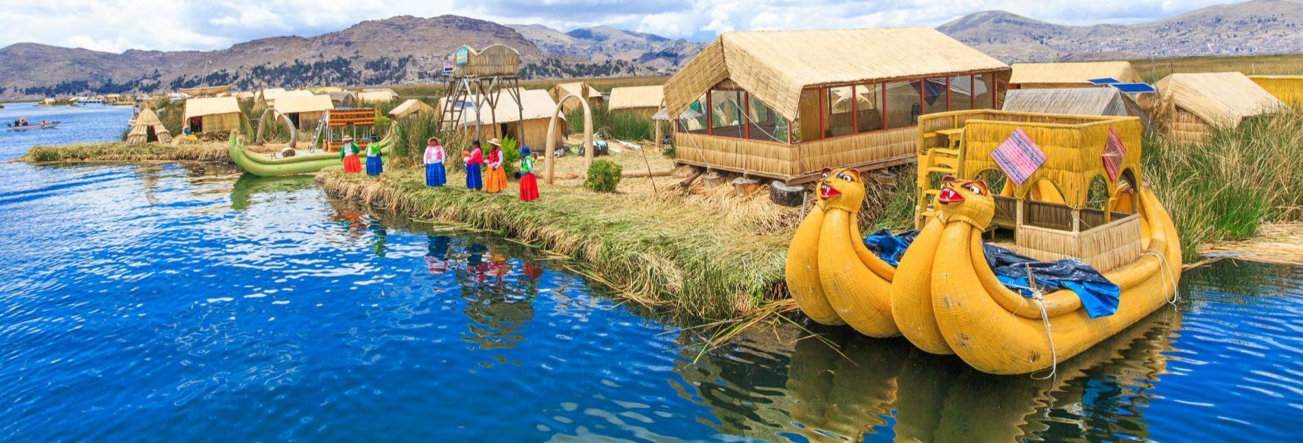 Catamarán por el Lago Titicaca + Isla del Sol