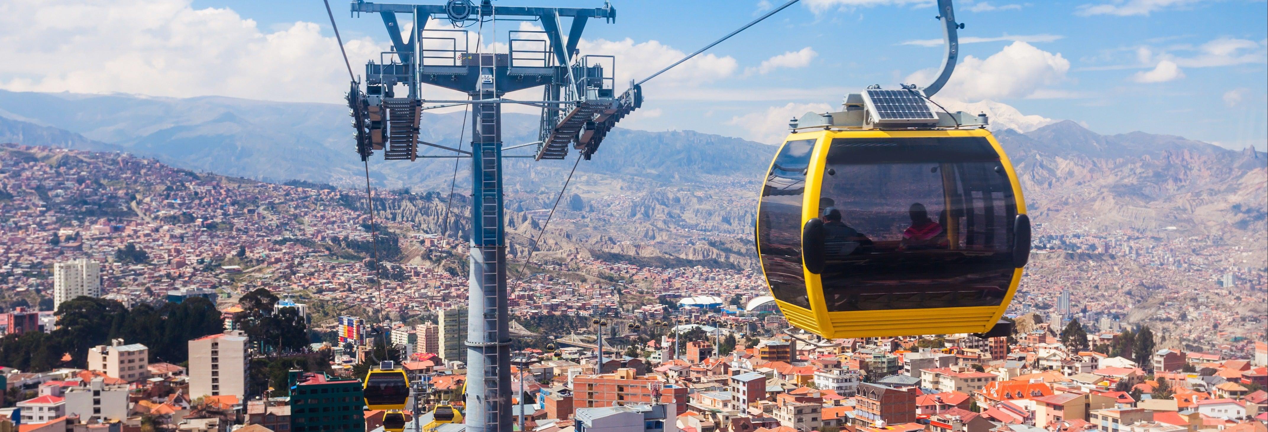 Tour privado dos teleféricos de La Paz
