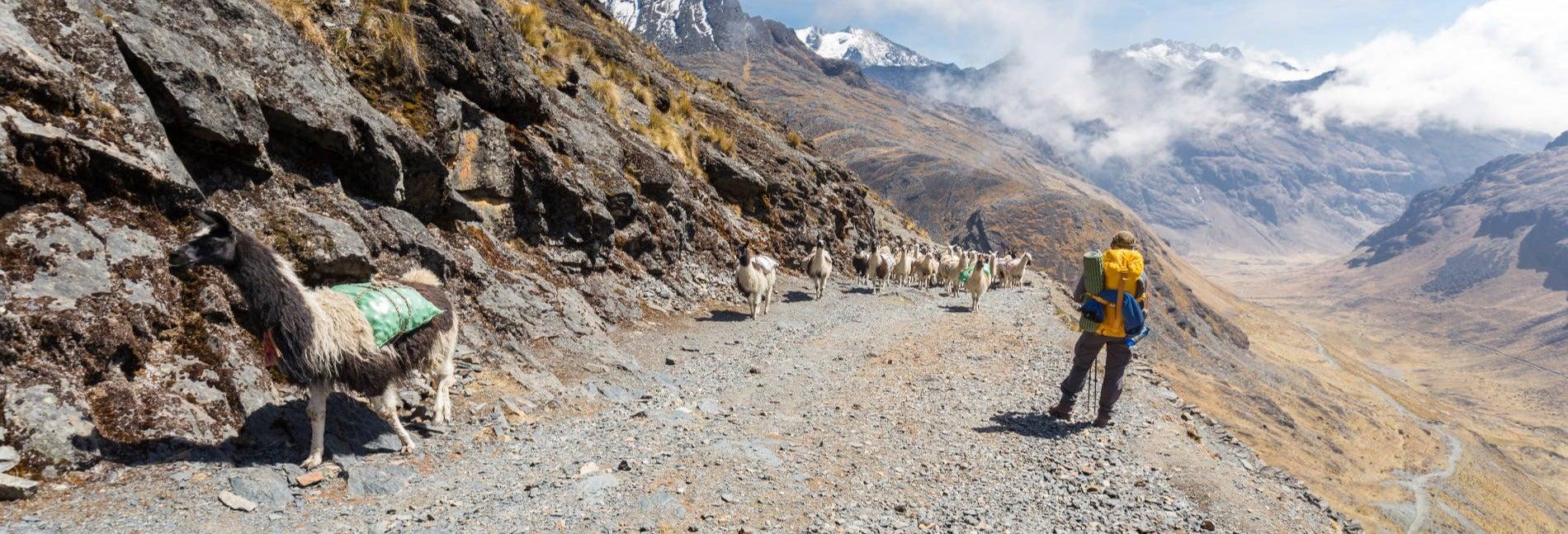 Ruta de trekking de 4 días por el Camino del Choro