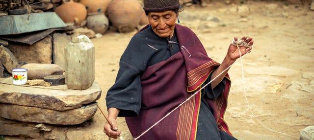 Excursión a una comunidad yampara