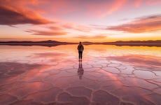 Excursión al salar de Uyuni al amanecer