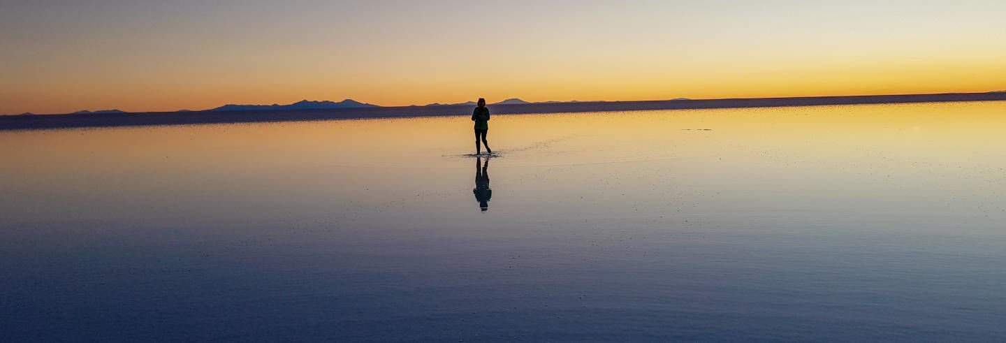 Tour all'alba del Salar de Uyuni
