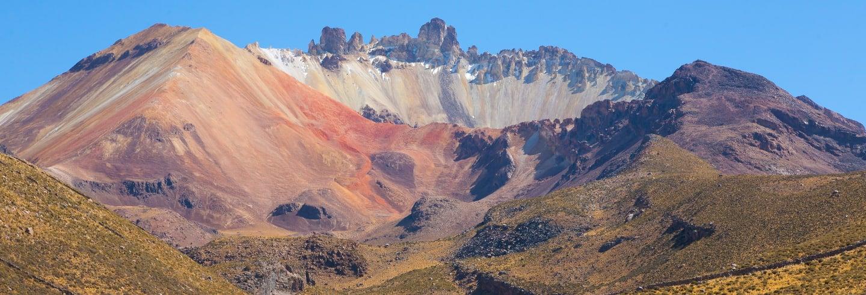Tour privado de 2 dias ao salar de Uyuni + Vulcão Tunupa