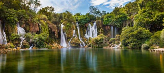 Excursión a Radimlja y las cascadas de Kravice