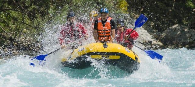 Rafting en el río Neretva