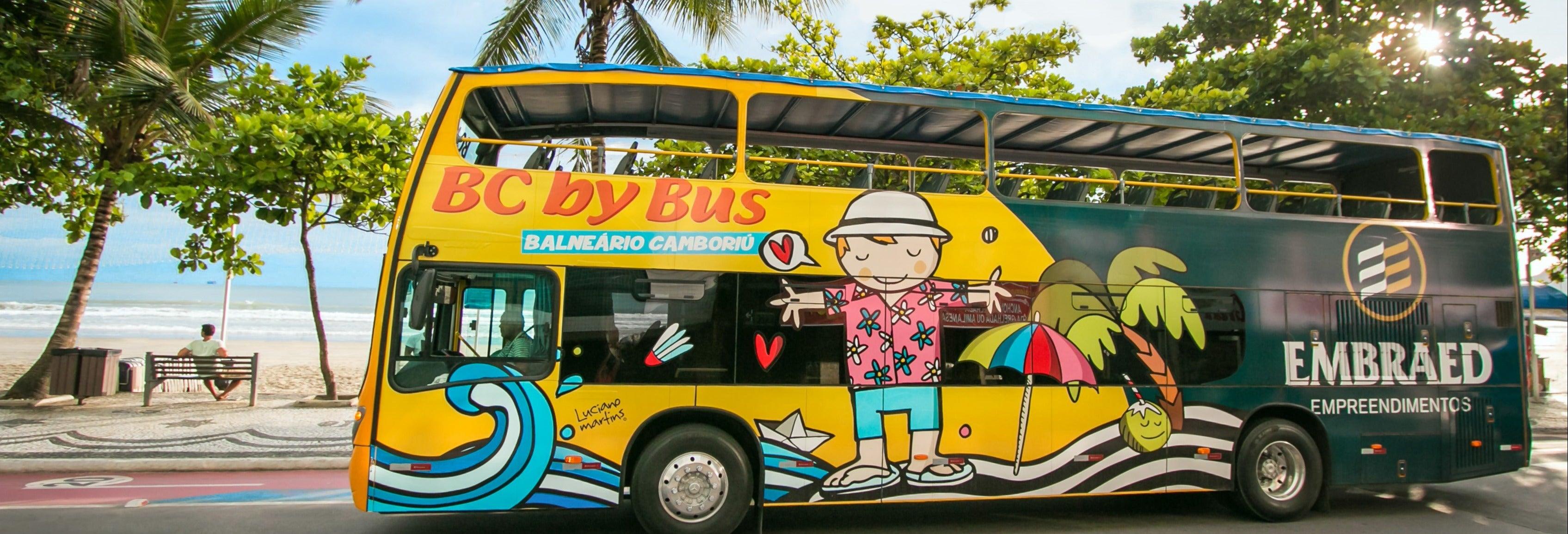 Ônibus turístico de Balneário Camboriú