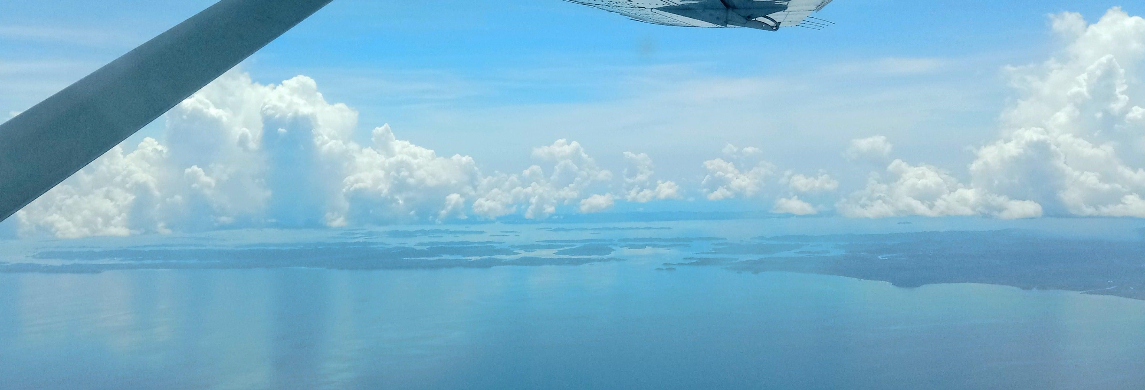 Paseo en avioneta por el Parque Nacional de los Lençóis Maranhenses