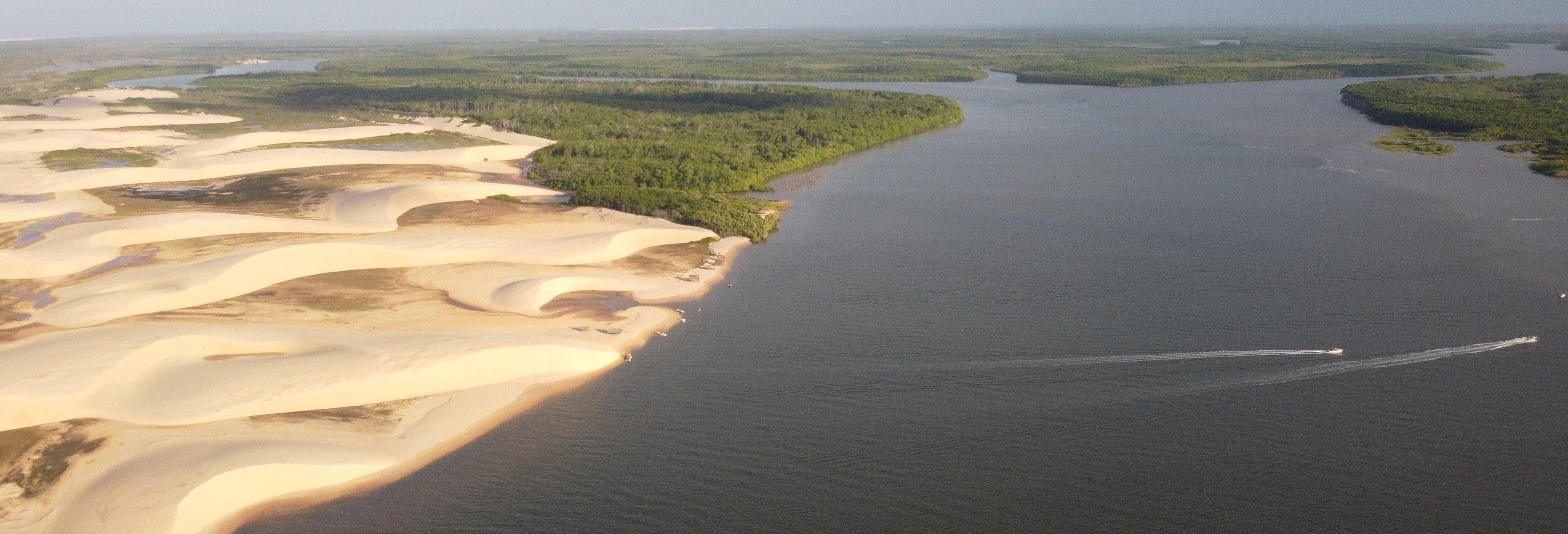 Tour privado de 4x4 pelo Delta do rio Parnaíba
