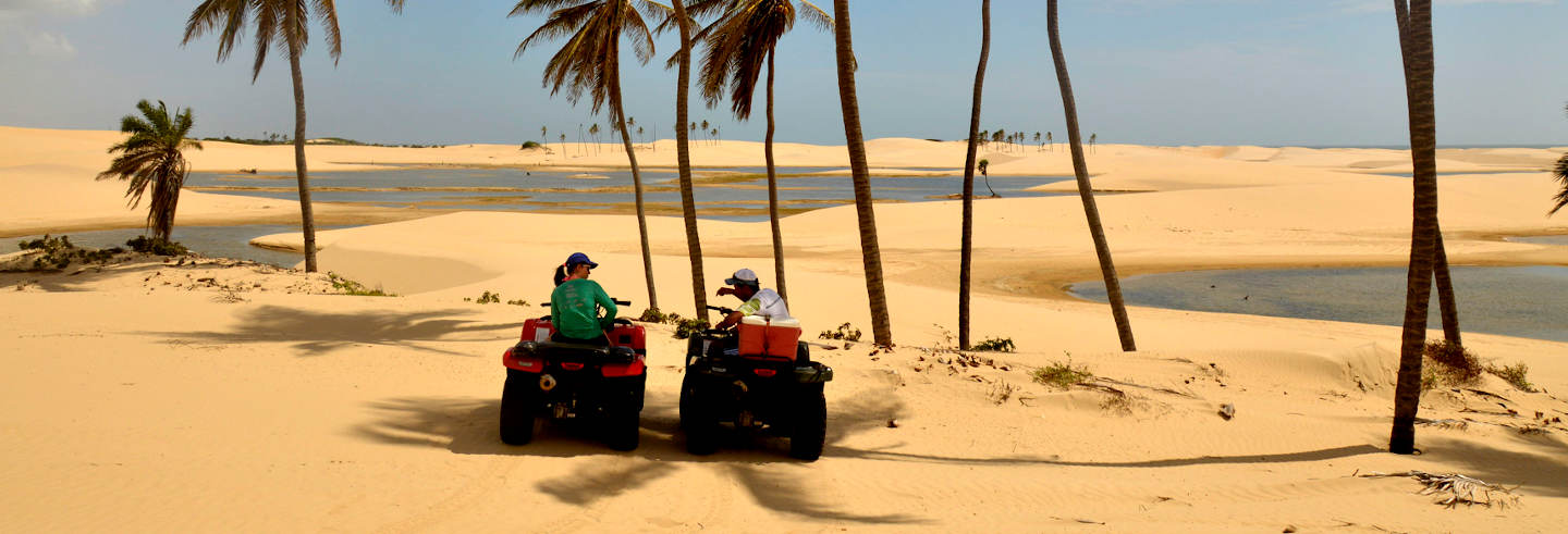 Tour en quad por el Parque Nacional de los Lençóis Maranhenses