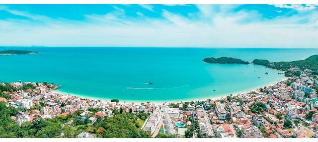Excursão às praias de Bombinhas