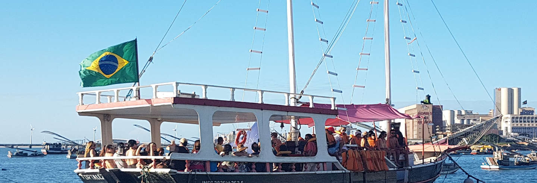 Paseo en velero por Fortaleza