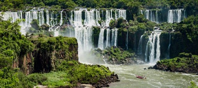 Entrada al lado brasileño de las Cataratas de Iguazú